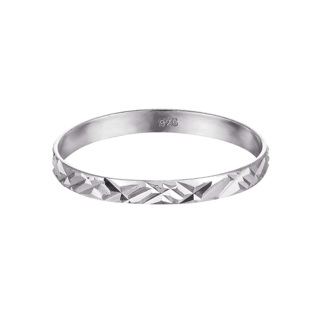 silver stacking ring - seolgold