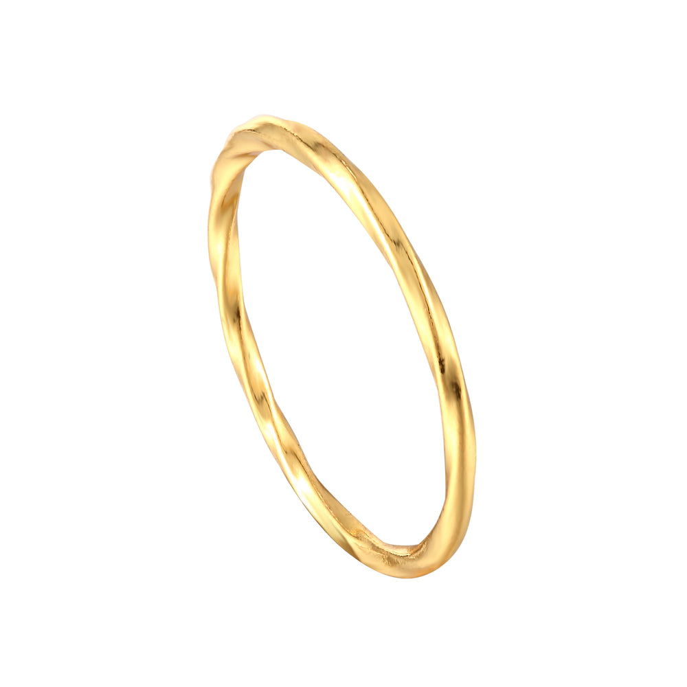 gold thin stacking - seolgold