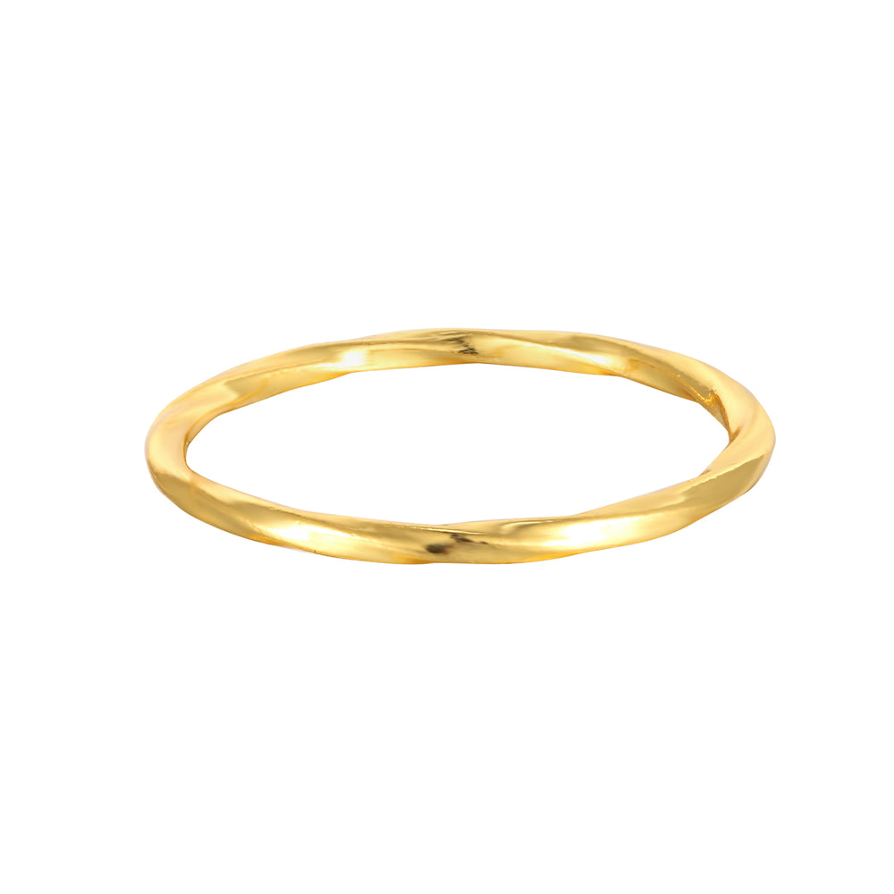 gold thin ring - seolgold