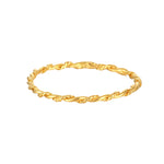 skinny gold stacking band ring - seol gold