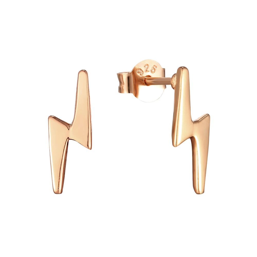 Rose gold Stud earrings - seol-gold