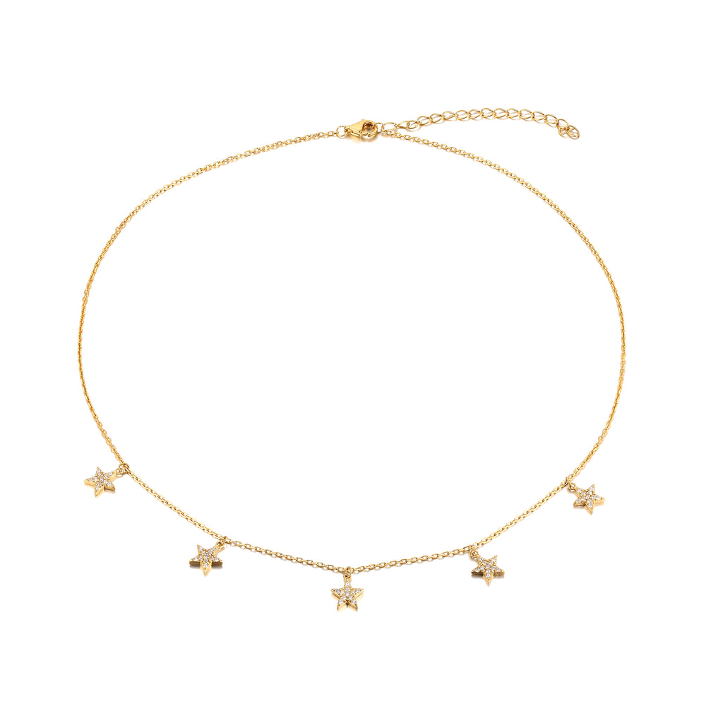 Charm Necklace - seol-gold