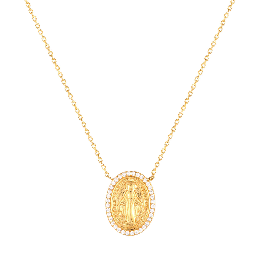 Guadalupe Necklace - seol-gold