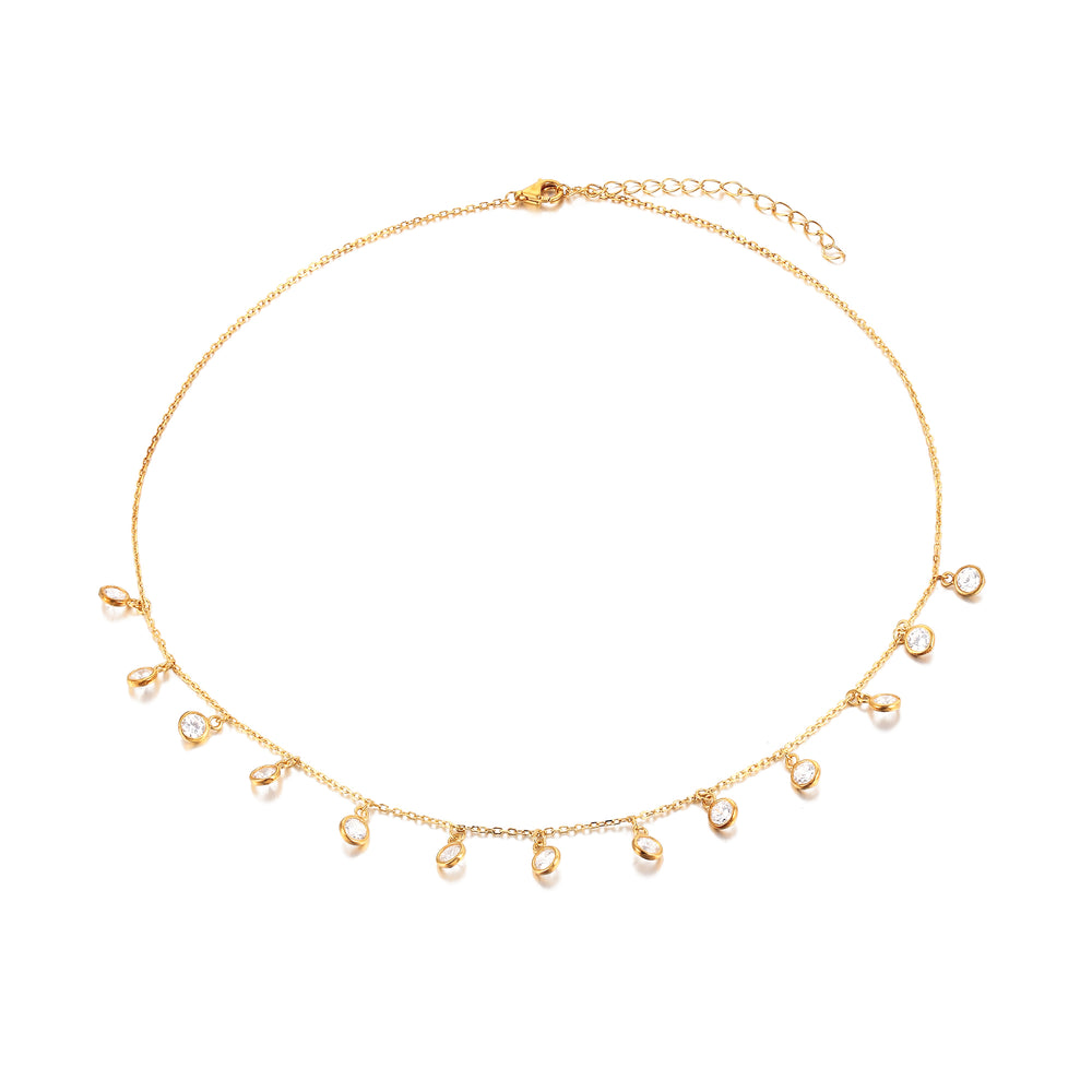gold chain necklace - seol-gold