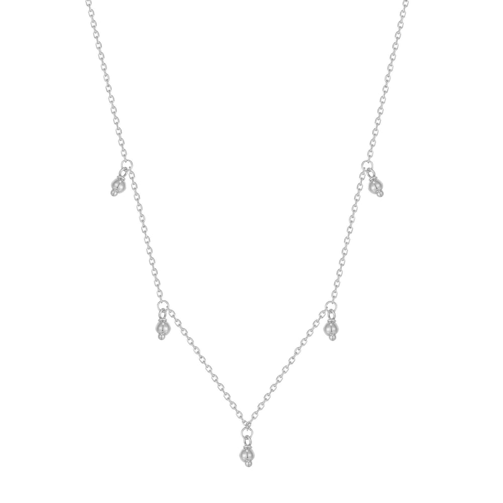 silver necklace - seolgold