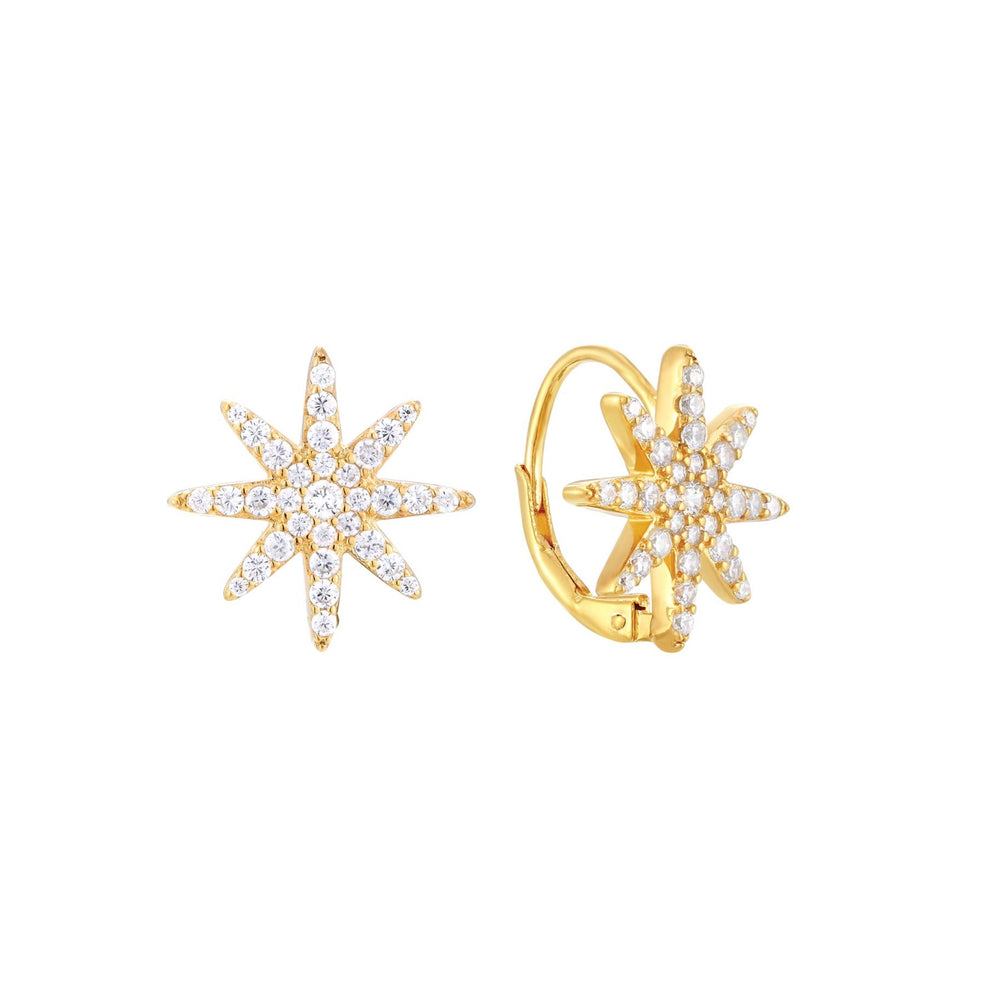 Star CZ Earrings