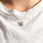 Scarab Beetle Necklace - seol-gold