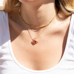 Claddagh Necklace - seol-gold
