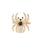 gothic - spider ring - seolgold