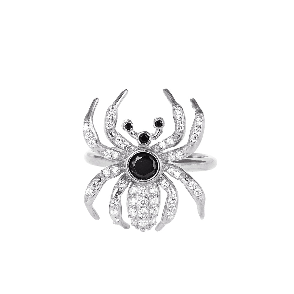 silver spider ring - seolgold