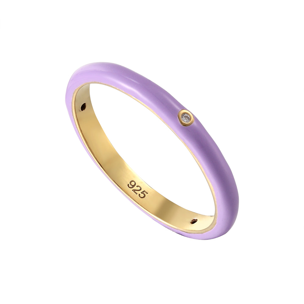 lilac ring - seol gold