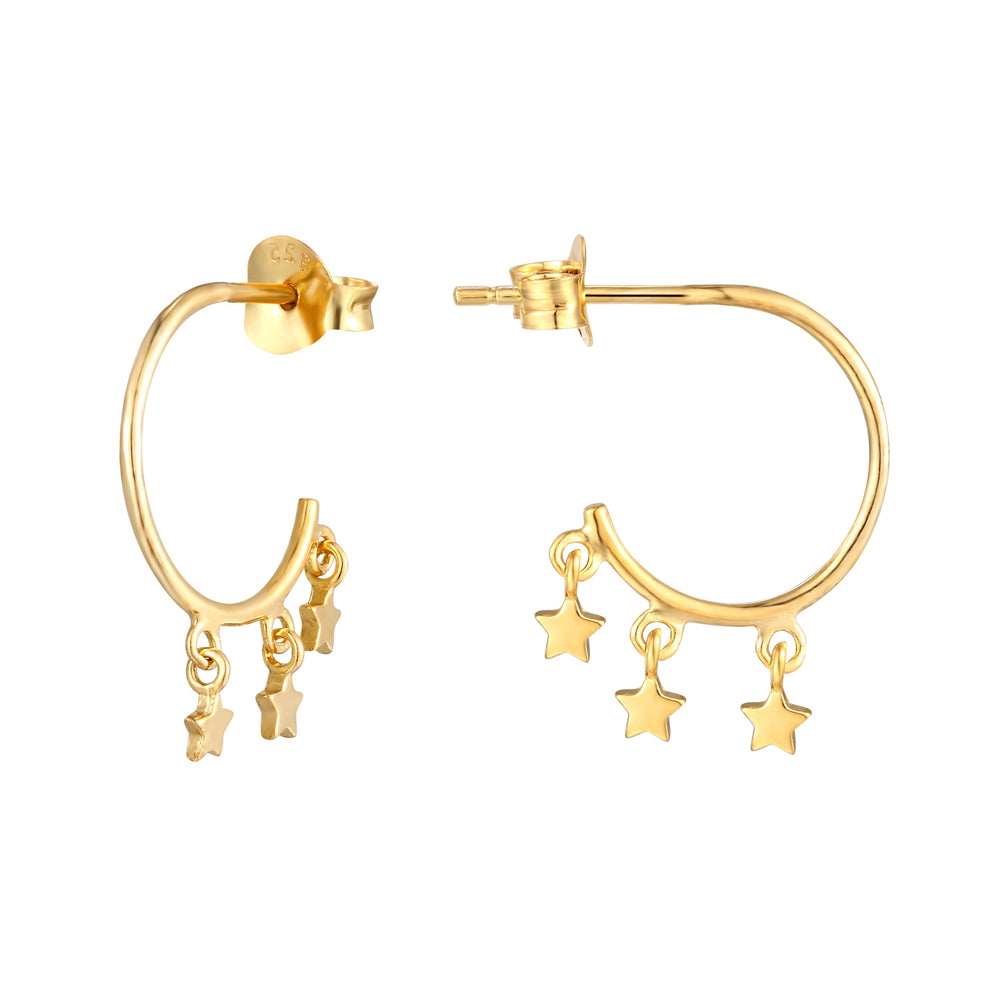 Star Studs - seol-gold