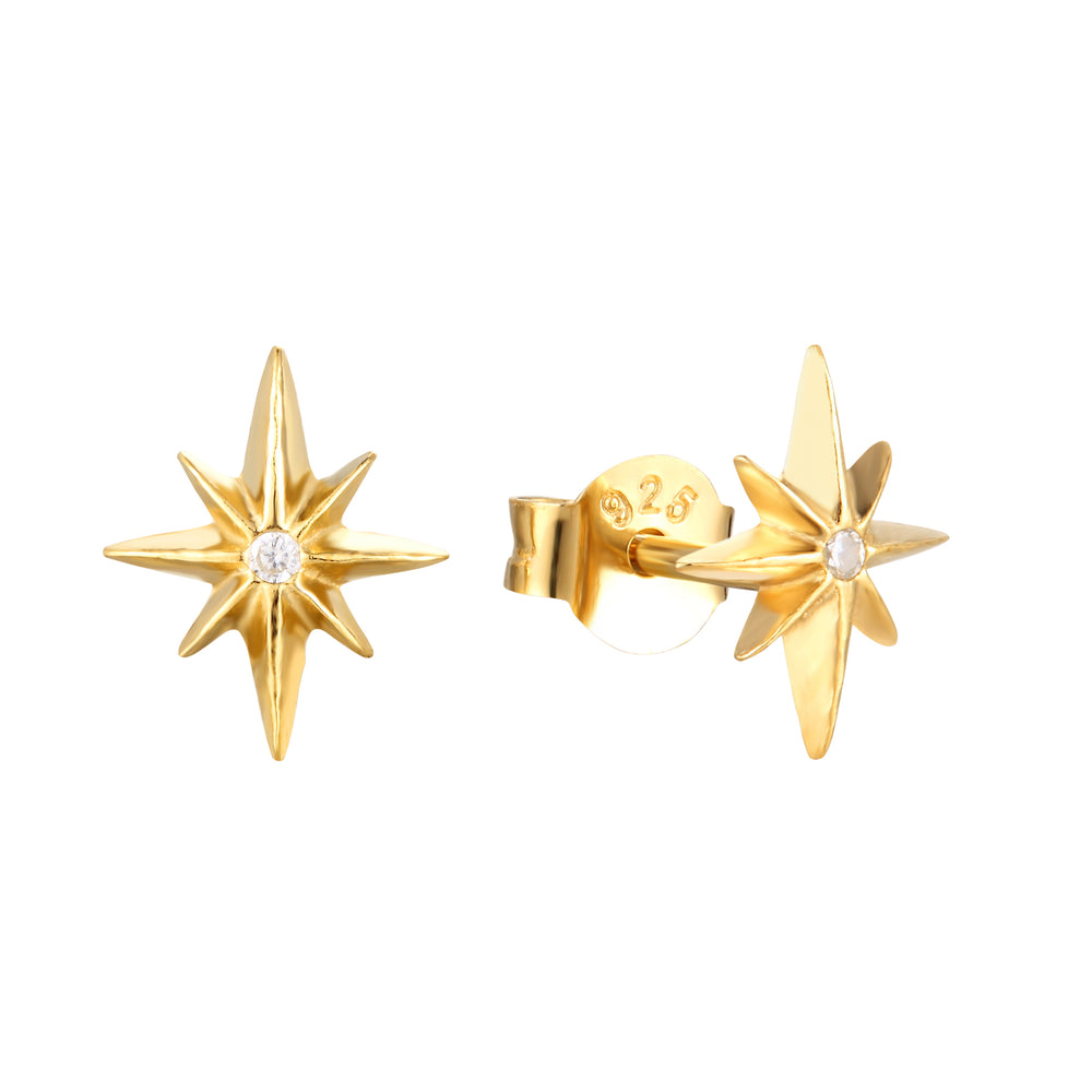North Star CZ Studs