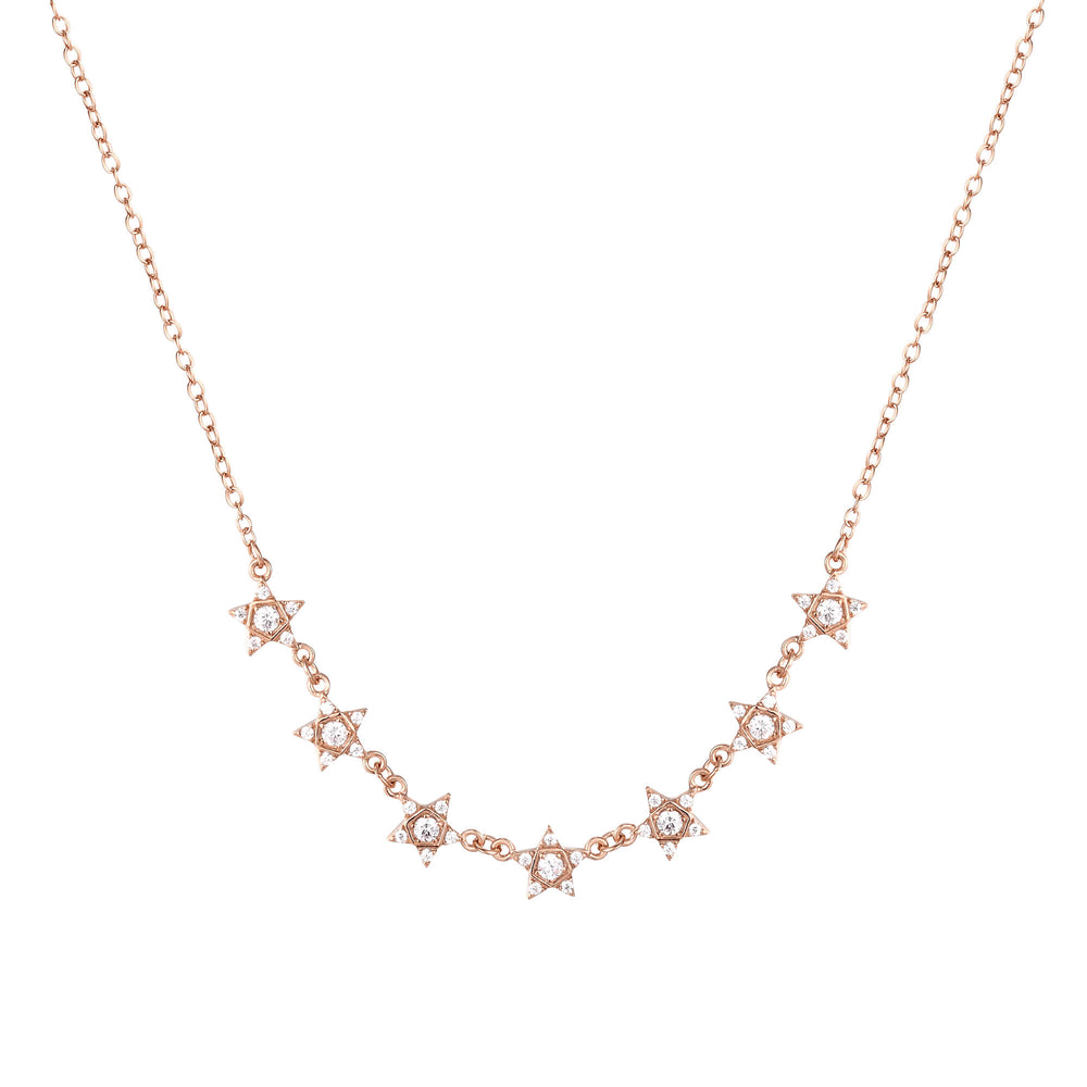 rose gold necklace - seol-gold