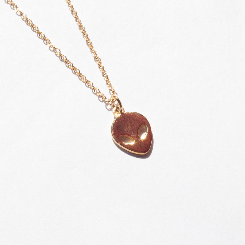 silver necklace - seol-gold