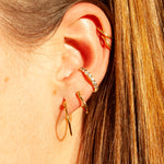 gold ear cuff - seol-gold