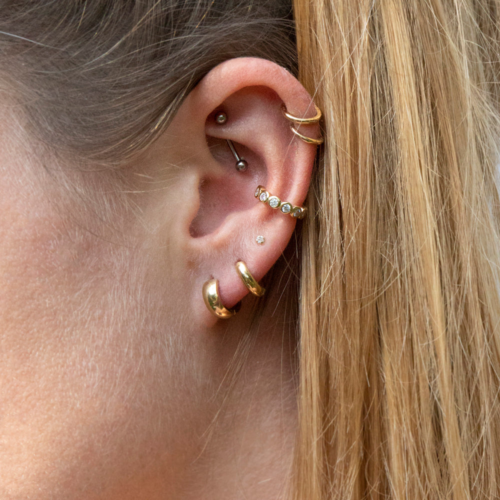 gold ear cuffs- seol-gold