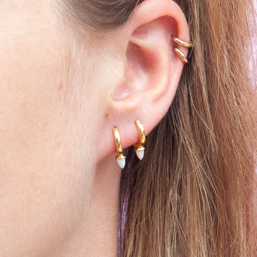 Spike Hoops - seol-gold