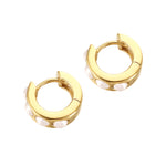 Pearl Earrings - seol-gold