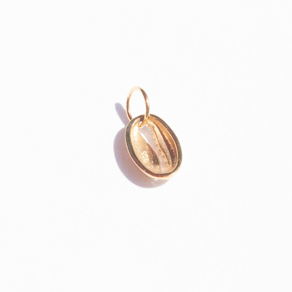 silver Shell Charm - seol-gold