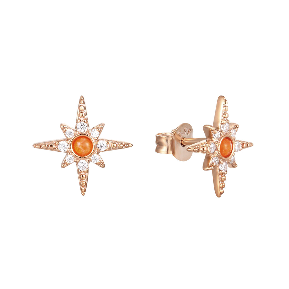 Opal Stud Earrings - seol-gold