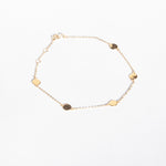 9ct Gold Disc Bracelet - seol-gold