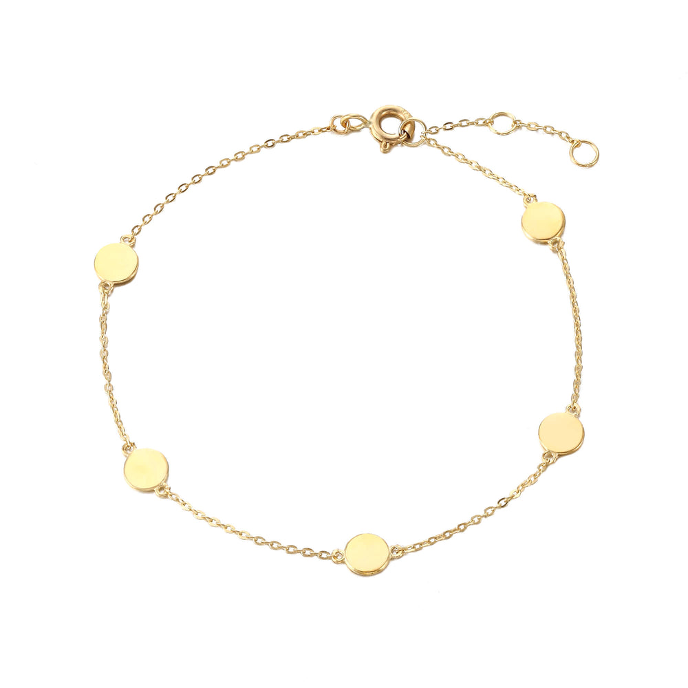9ct gold chain bracelet - seolgold