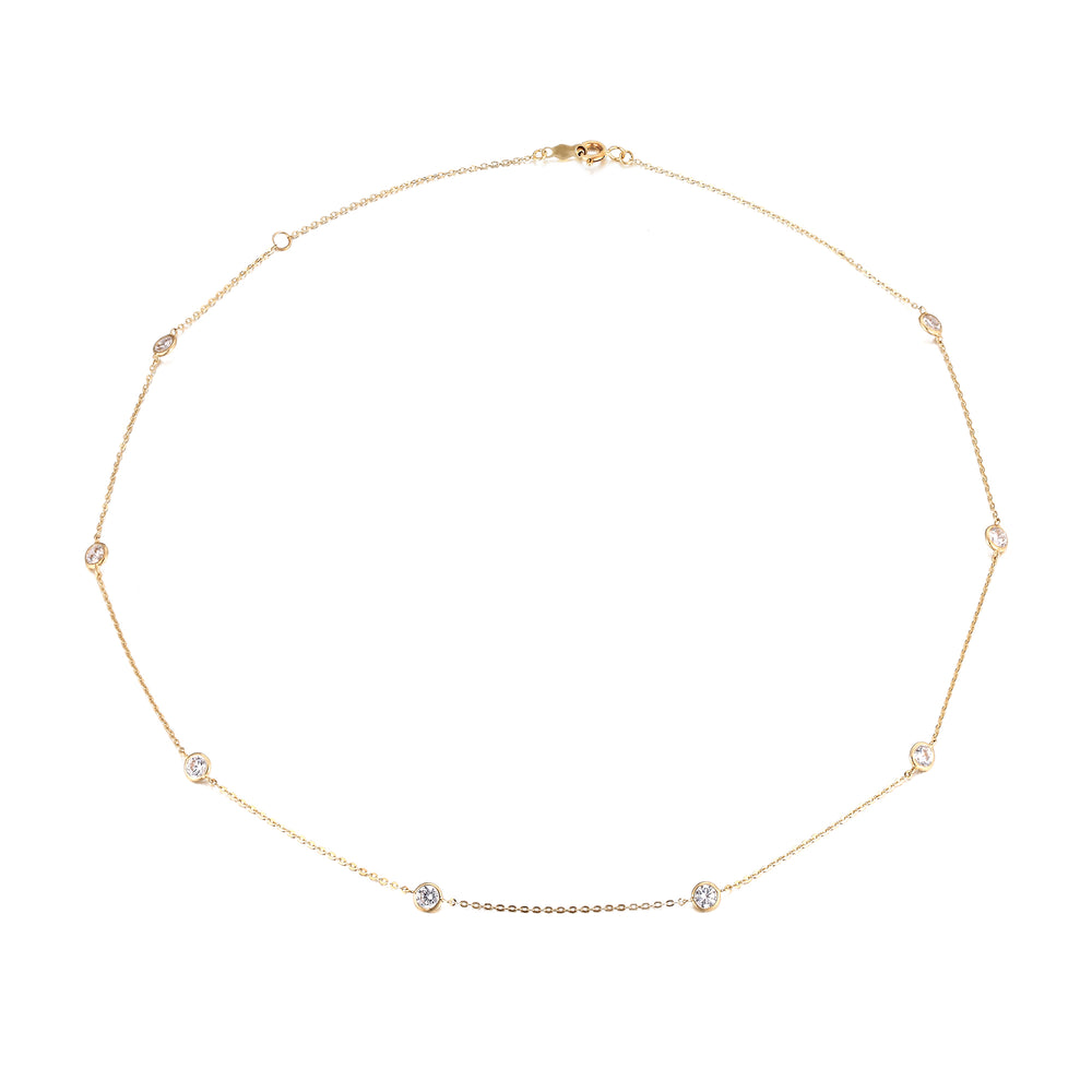 9ct Gold chain necklace - seol-gold