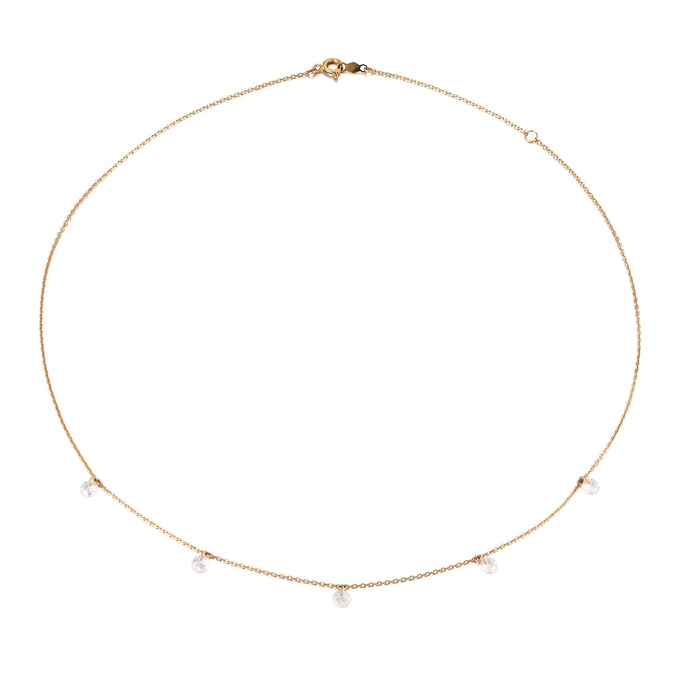 Gold Charm Necklace - seol-gold