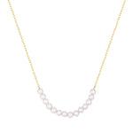 9ct Gold Pearl String Necklace