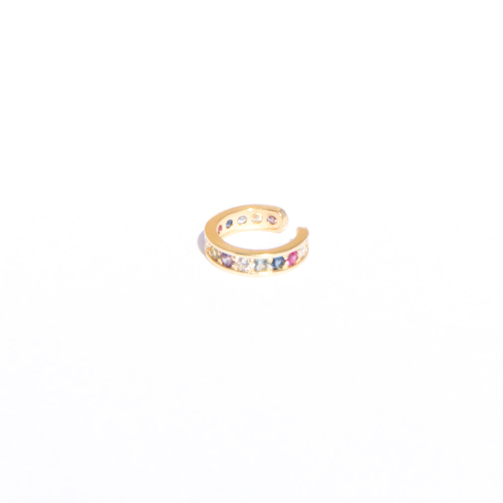 gold cuff earrings - seol-gold