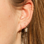 9ct Gold CZ Earrings - seol-gold