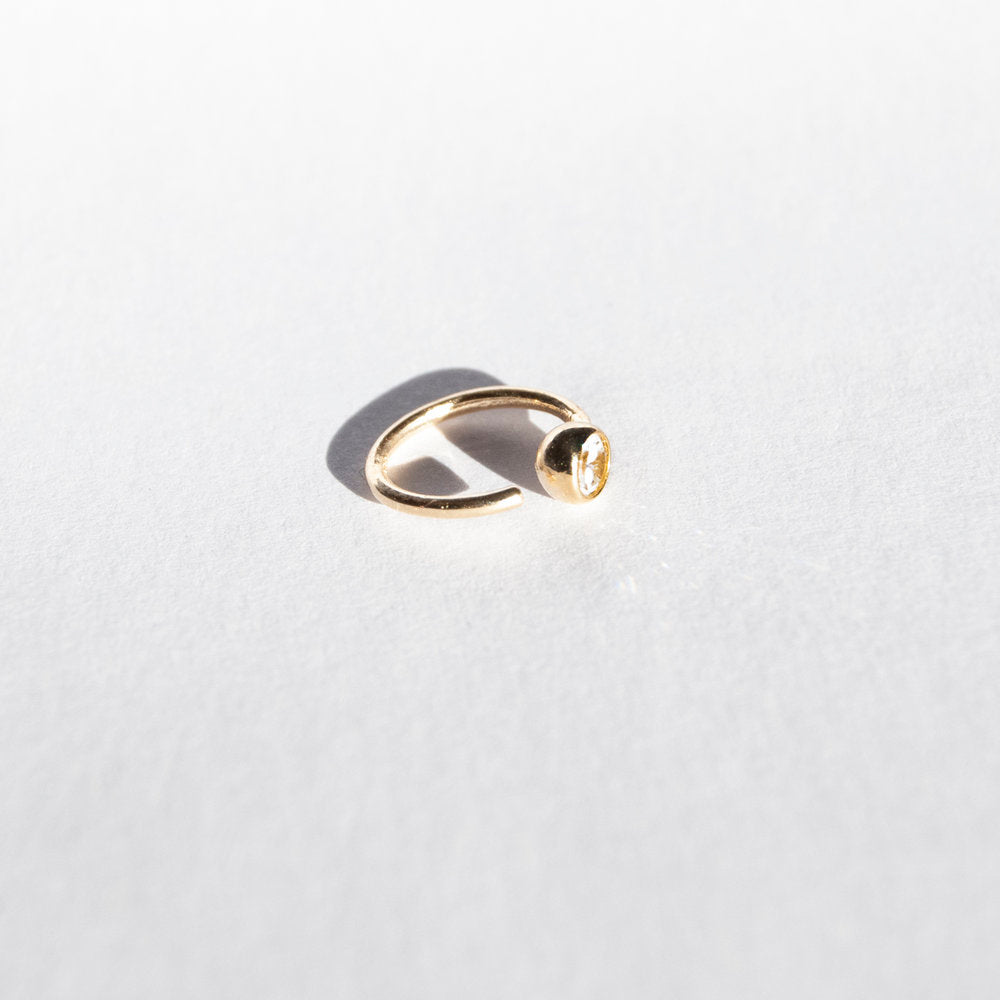 cartilage earring gold - seol-gold