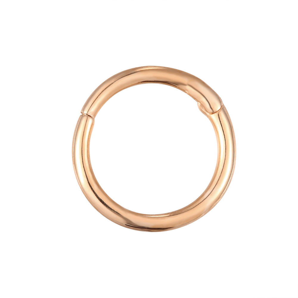 9ct rose gold - cartilage earring- seolgold