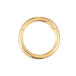 9ct Gold Segmented Hoop - seol-gold