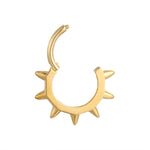 9ct spike earring - seol gold