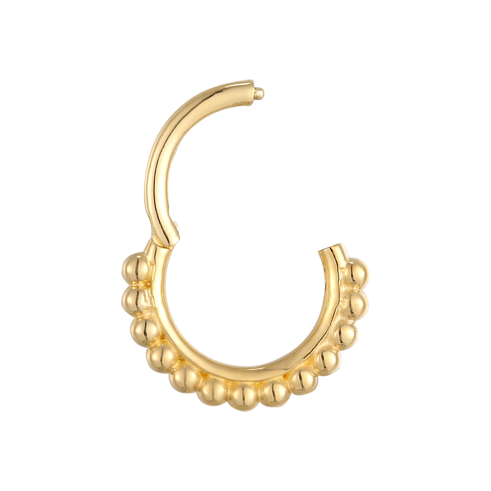 9ct hoop - seol gold