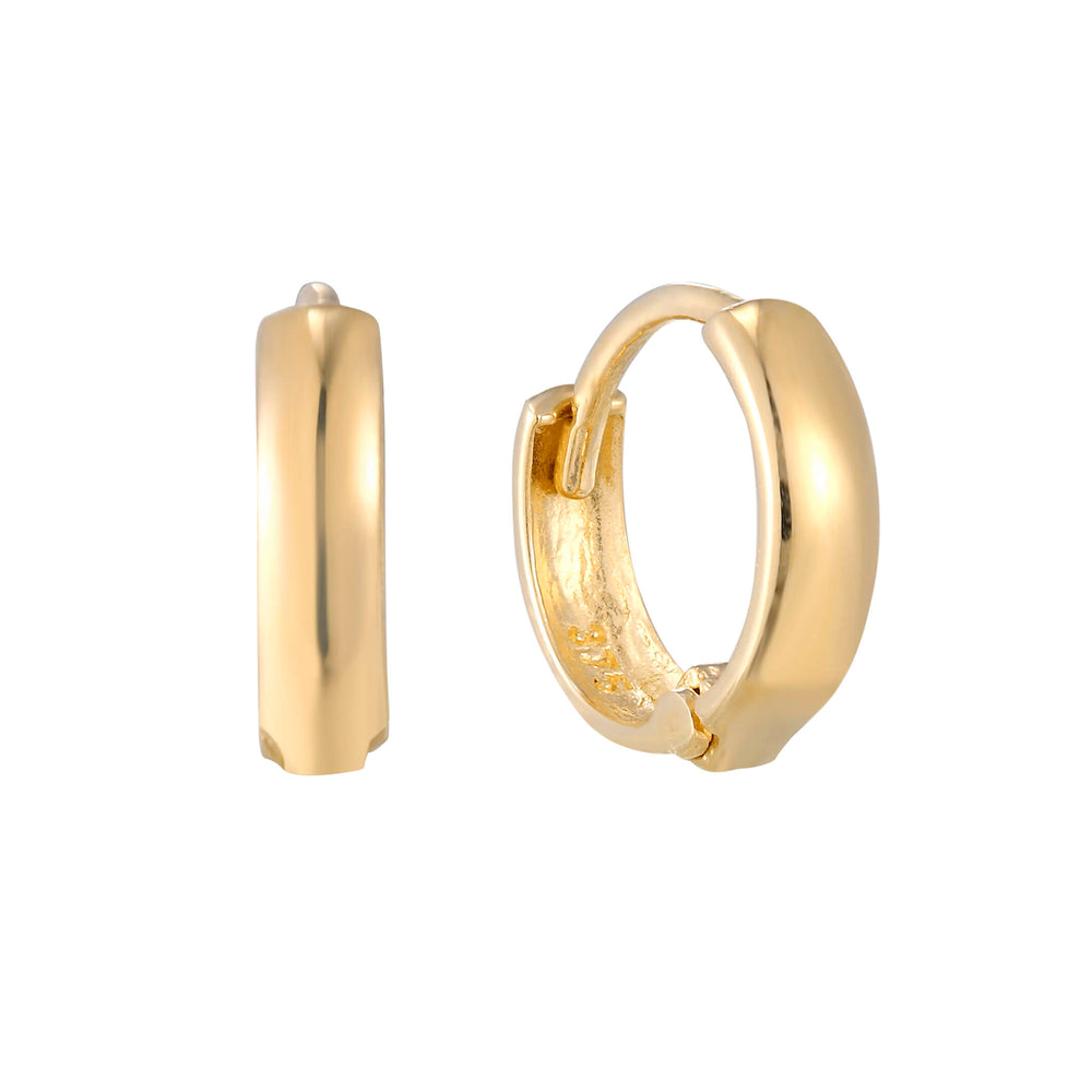 9ct gold cartilage hoop - seolgold