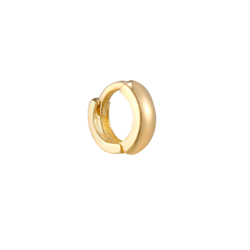 gold  cartilage hoops - seol-gold