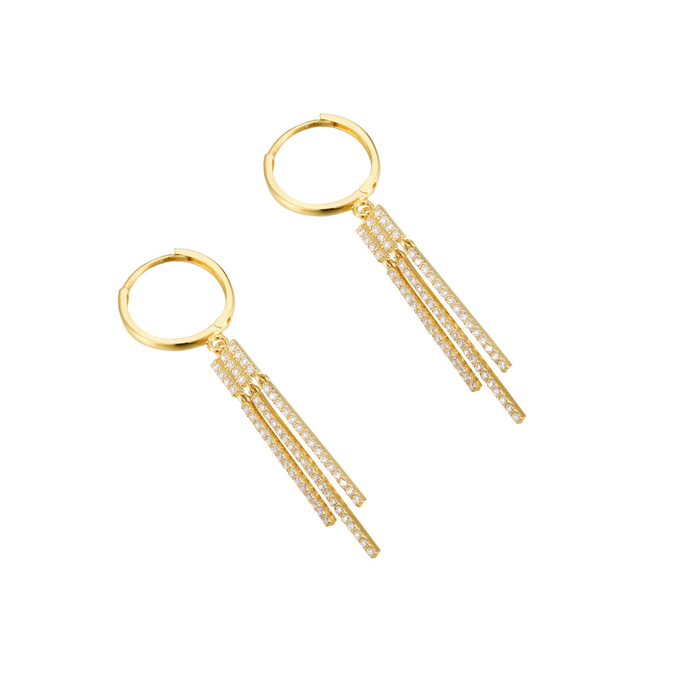 9ct gold - charm earring - seolgold
