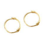 Tiny Hoops - seol-gold