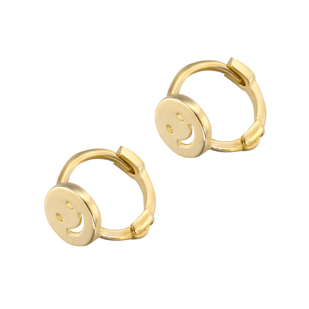 9ct Gold helix Hoop - seol-gold