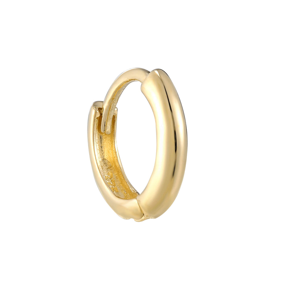 gold cartilage hoop - seolgold