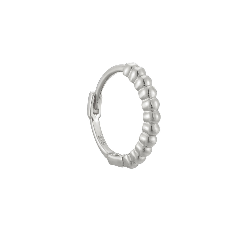9ct white gold hoop - seolgold