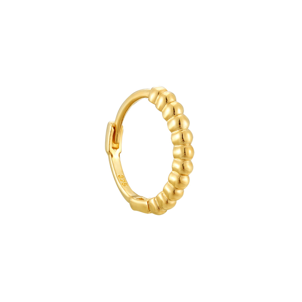 9ct yellow gold hoop - seolgold
