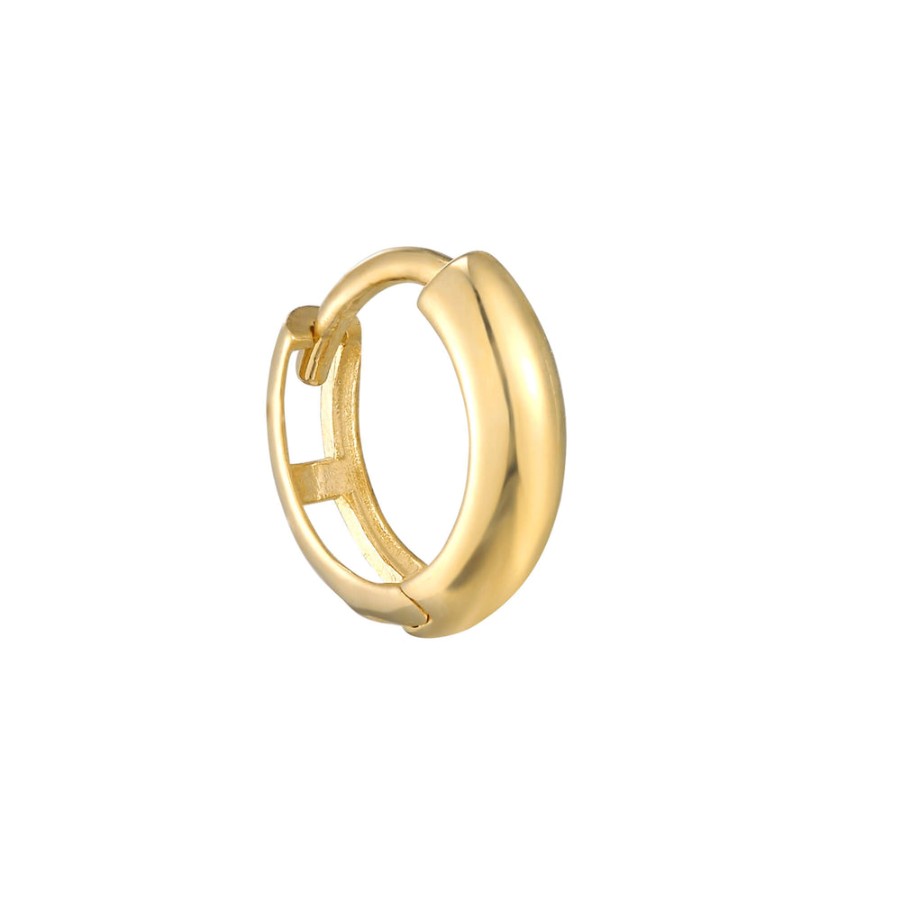 9k gold cartilage hoop- seolgold
