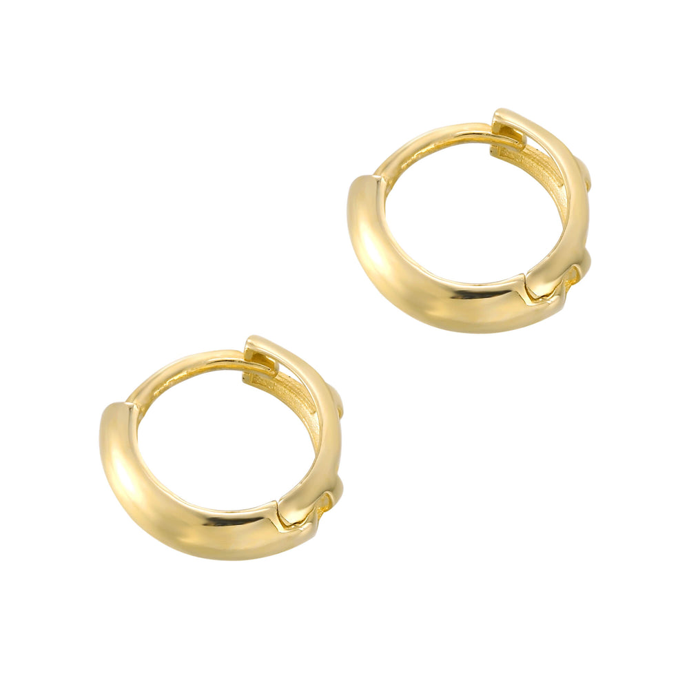 9ct gold cartilage hoop- seolgold