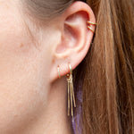Huggie Hoop Earrings - seol-gold