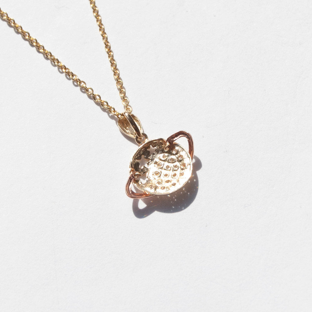 9ct Gold  charm - seol-gold