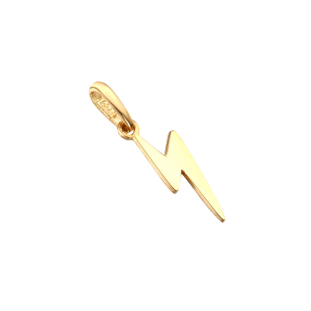 Lightning Bolt necklace - seol-gold